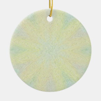 Muted Pastel Floral Memorial Ornament