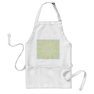 Muted Pastel Flowers - Customizable Adult Apron