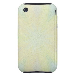 Muted Pastel Flowers Tough iPhone 3 Cover
