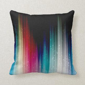 Muted Rainbow Throw Pillow
