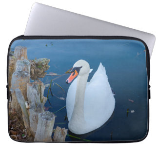 muted swan laptop sleeve