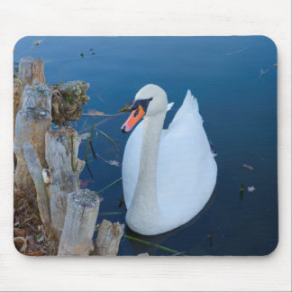 muted swan mousepad