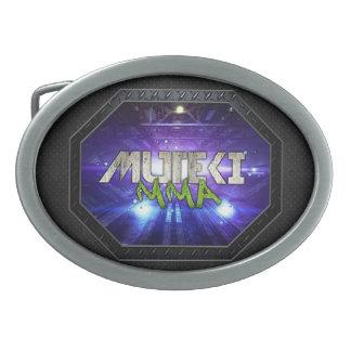 Muteki MMA Metal Octagon- Baller Belt Buckle