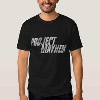 mutilación del proyecto camisas