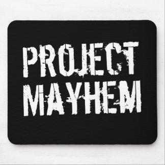 Mutilación del proyecto mouse pads