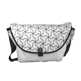 Mutsudemanji Japanese Pattern Messenger Bag