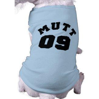Mutt 09 Dog Tshirt petshirt