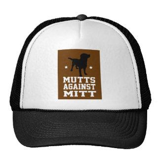 mutt against mitt trucker hats
