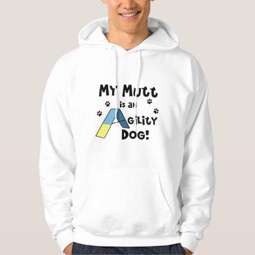 Mutt Agility Dog Hooded Sweatshirt