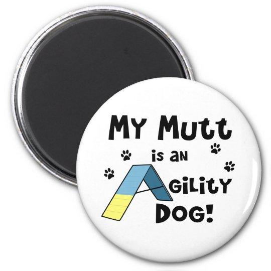 Mutt Agility Dog Magnet