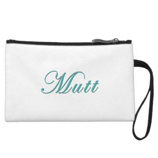 Mutt Wristlet Clutch