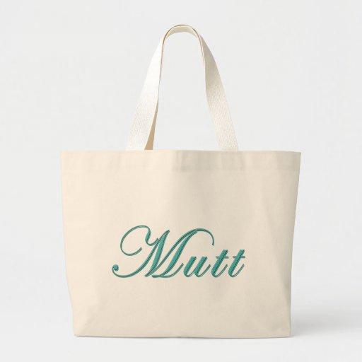 Mutt Tote Bags