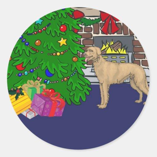 Mutt del navidad etiquetas