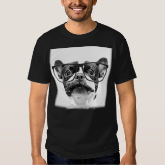 Mutt Dog with Red Collar Shirts