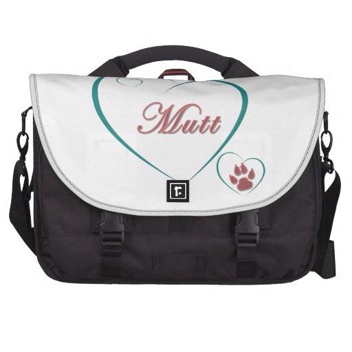 Mutt Love Laptop Commuter Bag