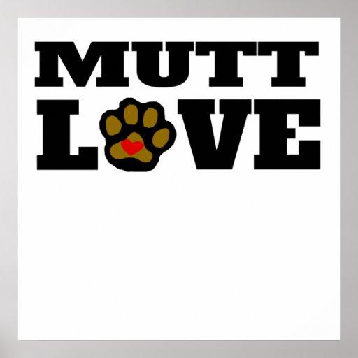 Mutt Love Poster