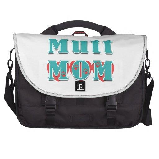 Mutt Mom Hearts Commuter Bags