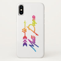Mutt Papa Gift LGBT Pride Month iPhone X Case