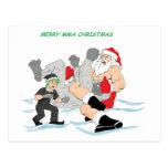 Muttahida Majlis-E-Amal Santa contra SnowMonster Postal