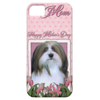 Mutter-Tag - rosa Tulpen - Havanese iPhone SE/5/5s Case