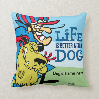 Muttley dog and  Dick pillow for your pet.