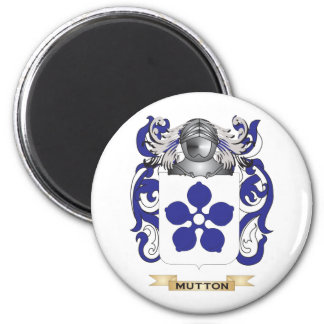 Mutton Coat of Arms (Family Crest) Fridge Magnets