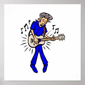 mutton hair guy guitar player blue b.png print