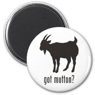 Mutton Refrigerator Magnet