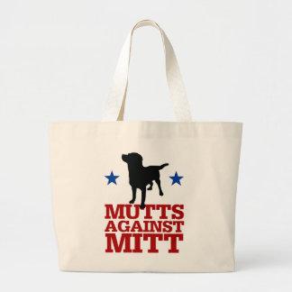 Mutts Against Mitt Jumbo Tote Bag