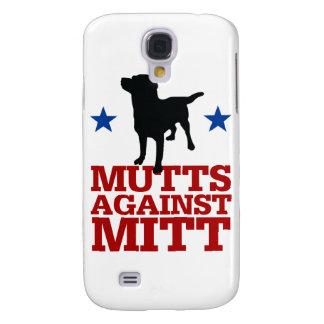 Mutts Against Mitt Samsung Galaxy S4 Cases