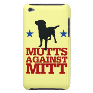 Mutts Against Mitt iPod Touch Case-Mate Case