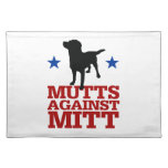 Mutts Against Mitt Cloth Placemat