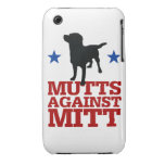 Mutts Against Mitt iPhone 3 Cover