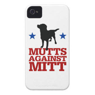 Mutts Against Mitt iPhone 4 Case-Mate Case