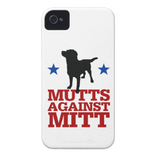 Mutts Against Mitt iPhone 4 Cover