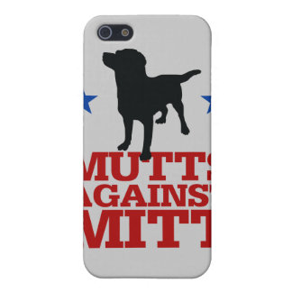 Mutts Against Mitt Covers For iPhone 5