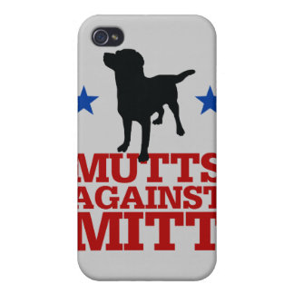 Mutts Against Mitt iPhone 4 Covers