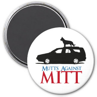Mutts Against Mitt Romney.png Magnets