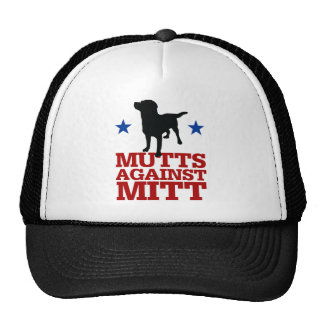 Mutts Against Mitt Trucker Hat
