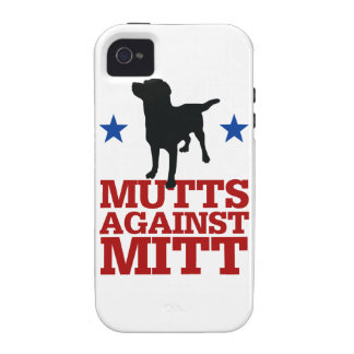 Mutts Against Mitt Vibe iPhone 4 Case