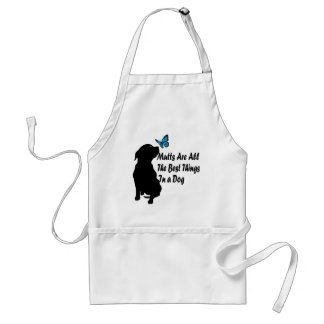 Mutts All The Best In A Dog! Adult Apron