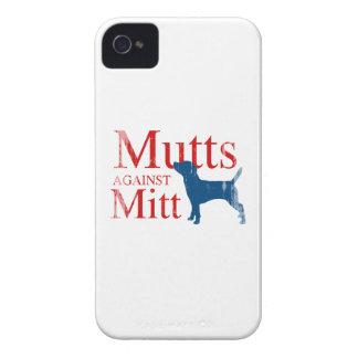 Mutts contra el mitón Faded.png Case-Mate iPhone 4 Coberturas