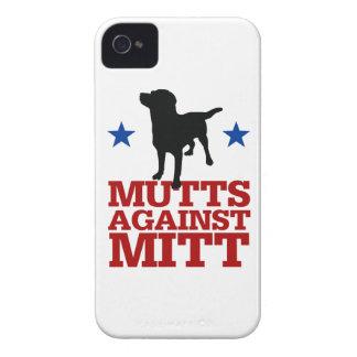 Mutts contra el mitón iPhone 4 Case-Mate coberturas
