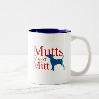 Mutts contra Mitt.png Taza De Café