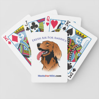 Mutts For Mitt Playing Cards