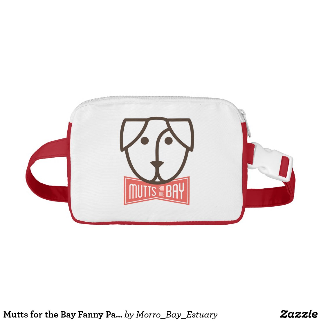 Mutts for the Bay Fanny Pack