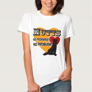 Mutts: No Pedigree? No Problem! Tee Shirt