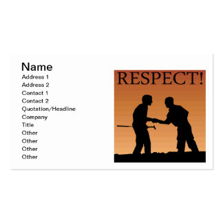Mutual Respect Business Card