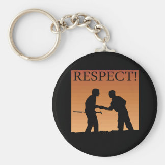Mutual Respect Keychain