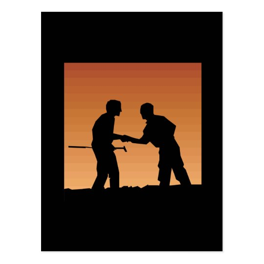 Mutual Respect Postcard